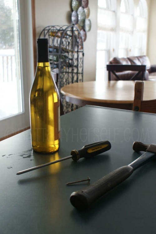 Life Tip: How to Open Wine Without a CorkScrew.