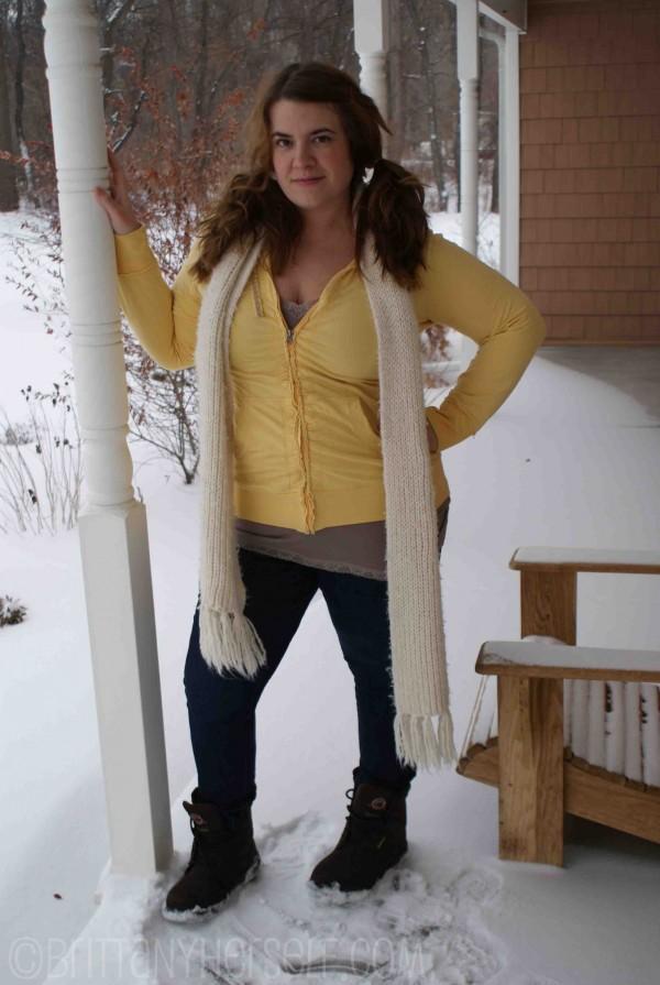 Fat girl.  Skinny jeans.