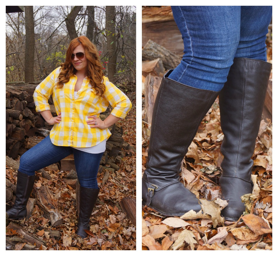 Playing Dress Up: Wide Calf Boots