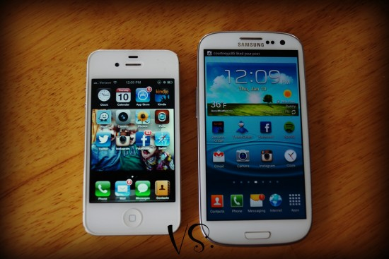 iphone vs galaxy s3