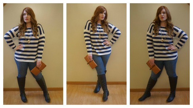 Stripe Sweater Collage