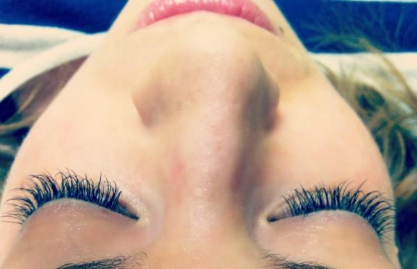 post eyelash extensions
