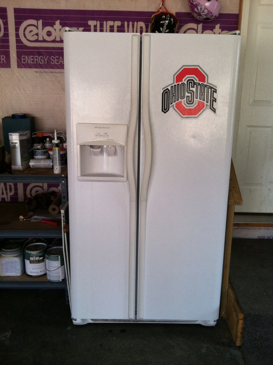 Garage Fridge: Brittany, Herself