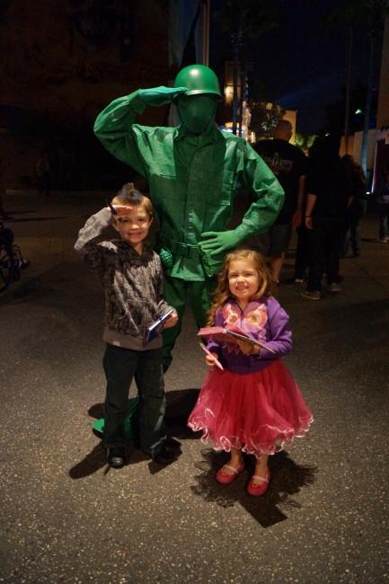 Hollywood Studios Green Army Guy
