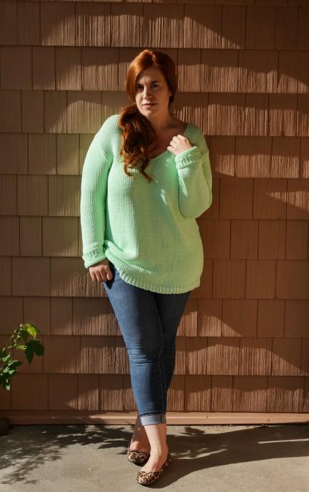 Mint Green Sweater