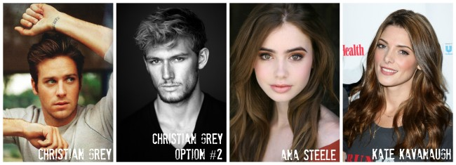 Fifty Shades of Grey Casting 1