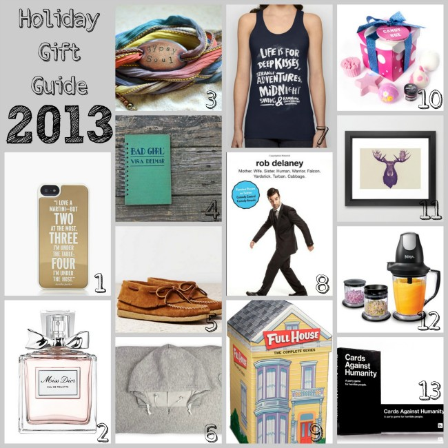 Gift Guide 2013