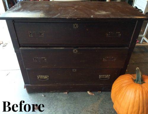 Refinished Entry Dresser