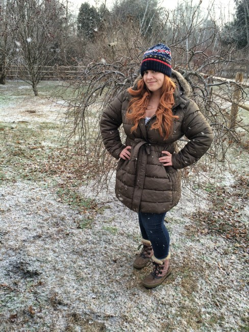 What I Wore: Winter Coat