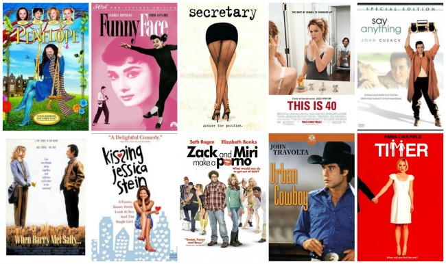 Romantic Movies for Weirdos