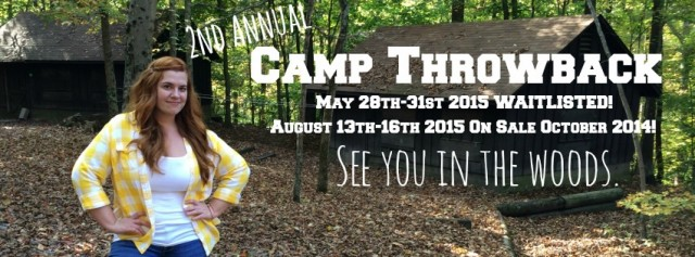 Get Your Camp Throwback On… TODAY!