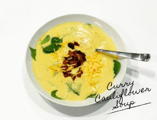 Instant Pot: Curry Cauliflower and Butternut Squash Soup